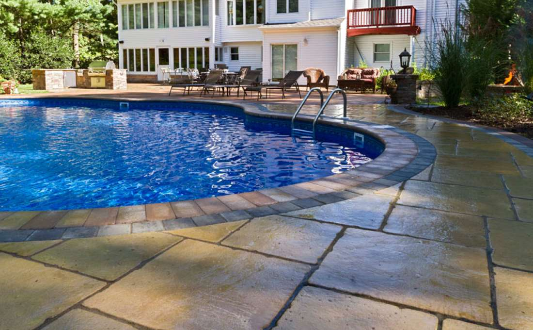 Complete Outdoor Living Design Woodbury Long Island Autumn Leaf
