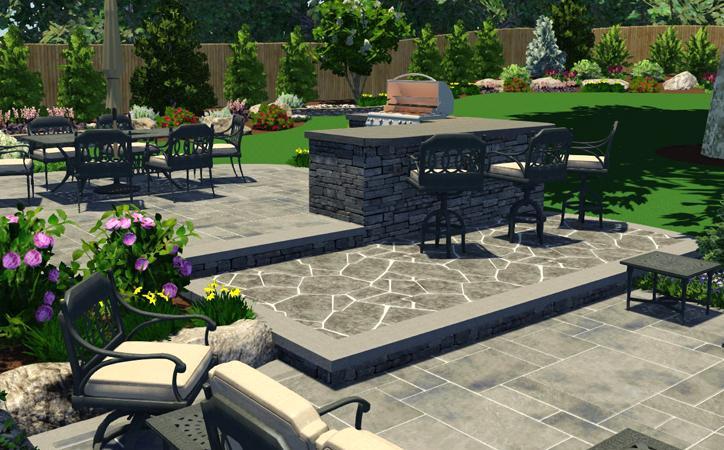 patio design   autumn leaf - Landscape And Patio Design