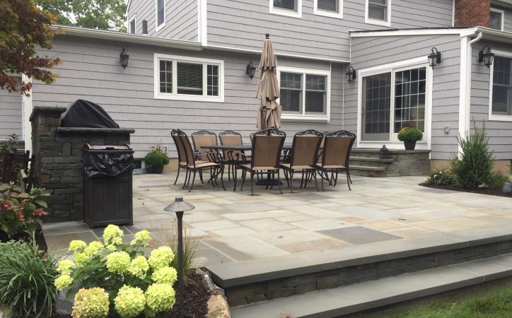 Creating Separate Patio Spaces