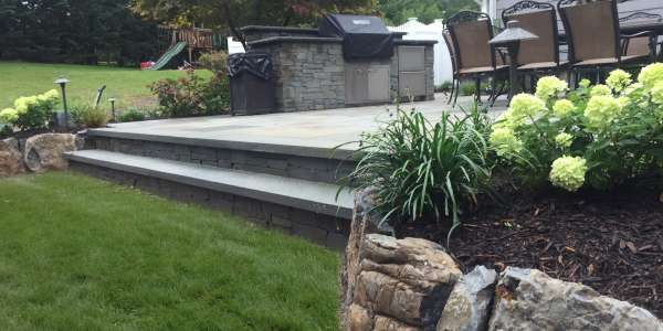 Natural Stone Patio Contractor. Huntington, Long Island