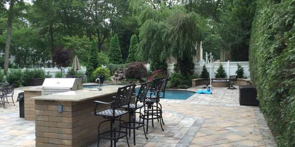Nicolock Paving Stone Pool Patio. Commack