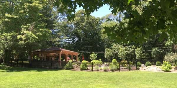 Residential Landscape Design. Brookville, Long Island